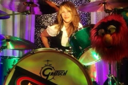 Drummer Blog: Deep Pink Band's Jamie Hodes on Her Appearance in Vintage Trouble Video