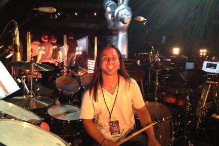 La Voz Drummer Jason Gianni