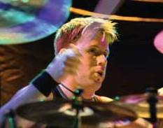 Drummer Jeremy Hummel of Breaking Benjamin