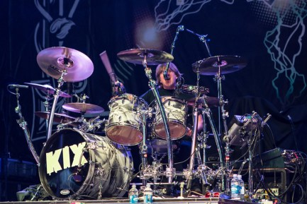 Kix's Jimmy Chalfant photo by Marcy Royce