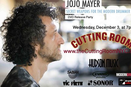 Event: Jojo Mayer DVD Release Party!