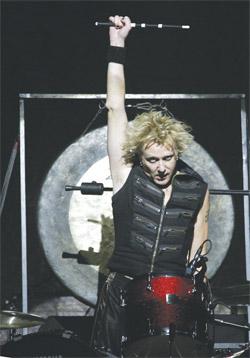 drummer James Kottak of The Scorpions