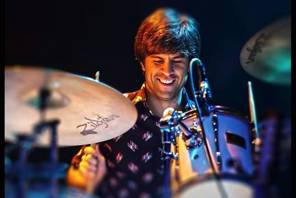 Drummer Kevin Bowers of the Feed