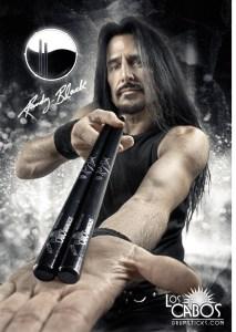 Los Cabos Updates Randy Black Signature Stick