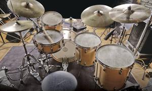 Levon Helm's drum kit