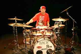 Drummer Lou Santiago