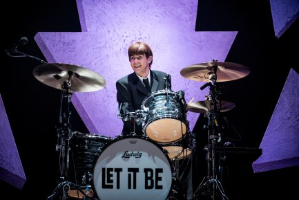 "Drummer Luke Roberts of ""Let It Be"" Beatles Tribute"
