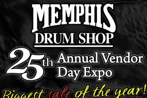 Memphis Drum Shop to Host 25th Annual Vendor Day Expo