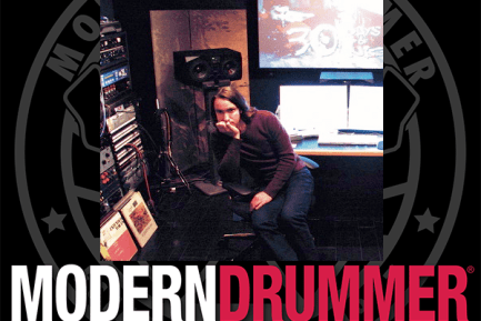 The Modern Drummer Podcast Episode 1 with Brian Reitzell