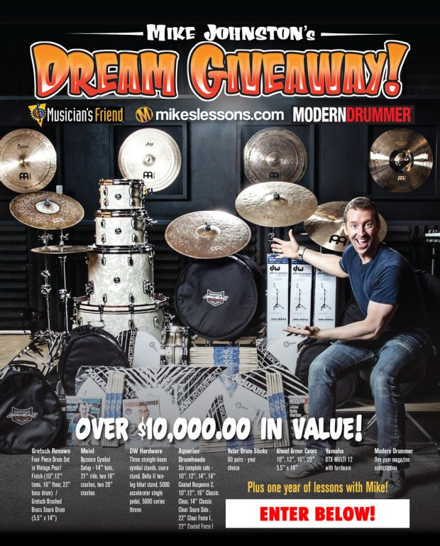 Enter to Win Mike Johnston's Dream Giveaway!