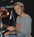 Drummer Manu Katche