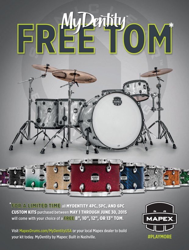 Mapex MyDentity Free Tom Event