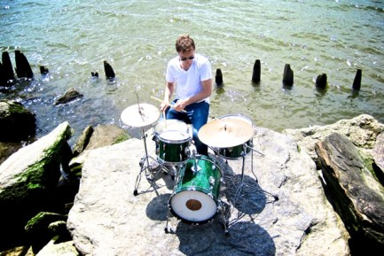 Drummer Matt Graff of Chevonne & the Fuzz