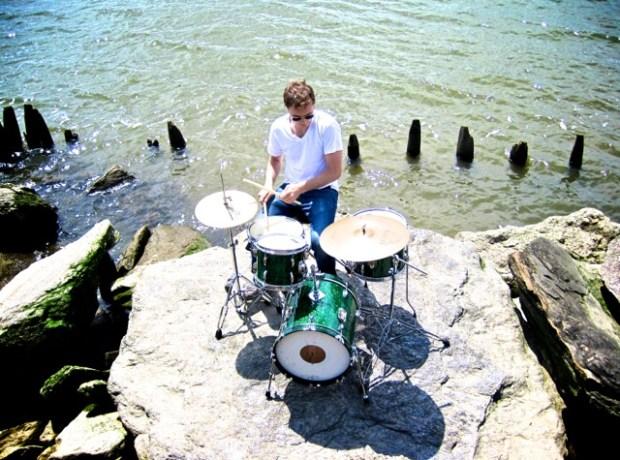 Drummer Matt Graff of Chevonne & the Fuzz