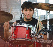 Drummer Michael Novak Jr.
