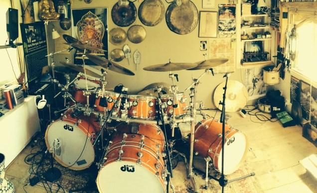 Drummer Morgan Agren's Kit