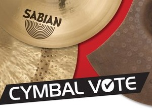 News Sabian Cymbal Vote