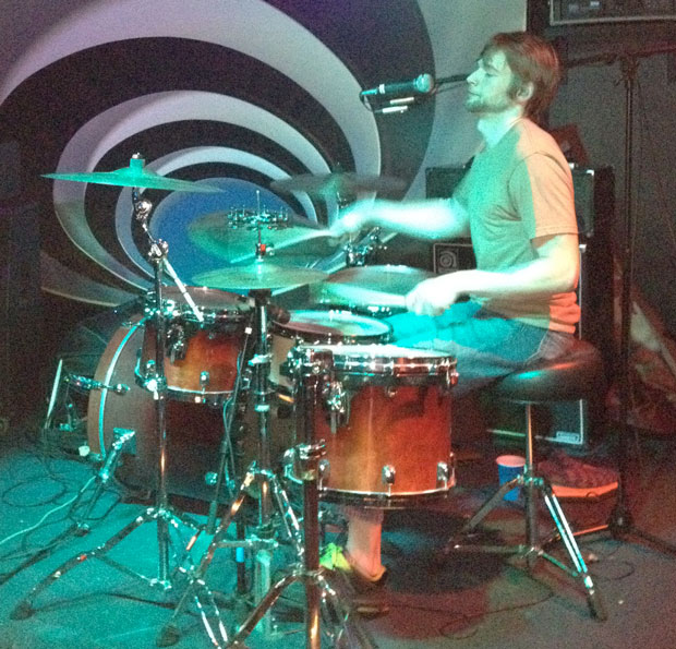 Nick Krivchenia of Armed With Legs Drummer Blog