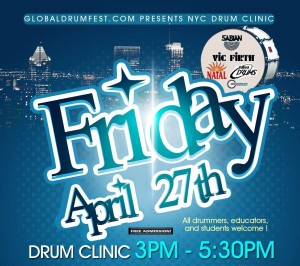 GlobalDrumFest.com and LREI Present GlobalDrum Day in NYC