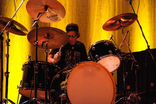 Drummer Scott Asheton By Robert Matheu