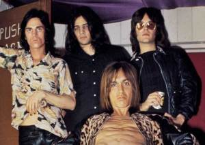 The Stooges, 1972. From left: James Williamson, Scott Asheton, Iggy Pop, and Ron Asheton