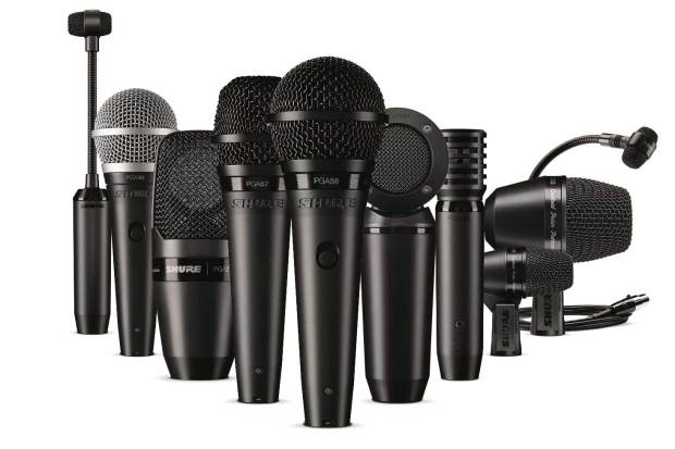 Shure PG Alta Drum Microphone Kits