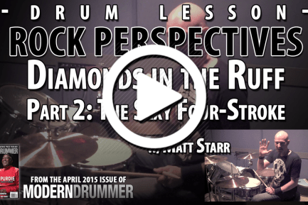 Rock Perspectives: Diamonds in the Ruff, Part 2: The Sexy Four-Stroke (VIDEO)