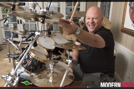 VIDEO - In the Studio With Actor/Drummer Michael Chiklis