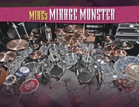 Drummer Mike Portnoy's Drum Setup