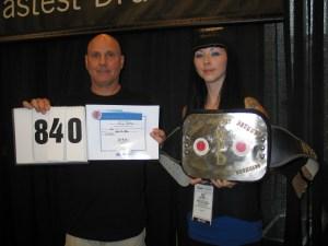 Perry Dattilo - World's Fastest Drummer Contest
