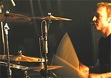 Peter Wilkinson of The Saints Drummer Blog