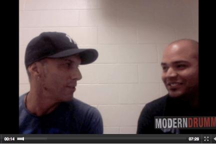 Van Romaine and Omar Tavarez Video Chat Still