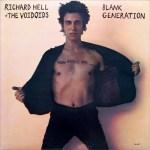 Richard Hell & the Voidoids - Blank Generation (album cover)