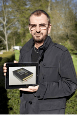 Ringo with his new ebook