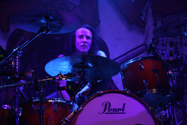 Rob Hammersmith of Skid Row photo by Frank Jacobs