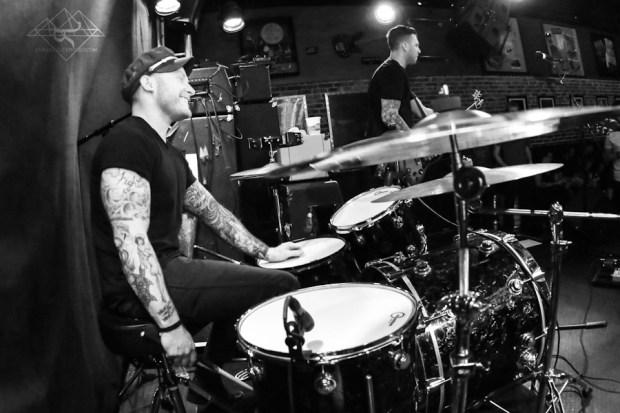 Drummer Rob Rufus of Blacklist Royals