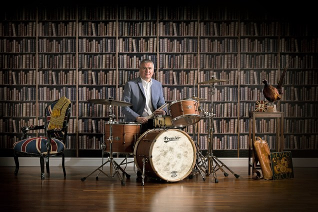Premier British-Made Modern Classic Drumset w/ drumming great Steve White