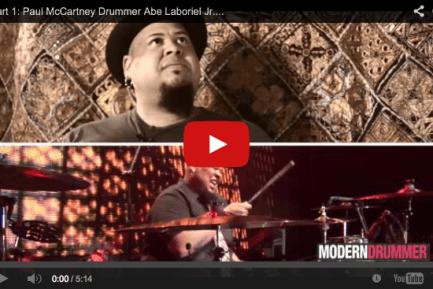 VIDEO - Part 1: Paul McCartney Drummer Abe Laboriel Jr. Interview