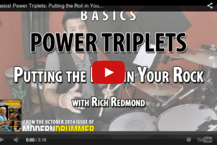 VIDEO! Power Triplets: Putting the Roll in Your Rock (From the October 2014 Issue)