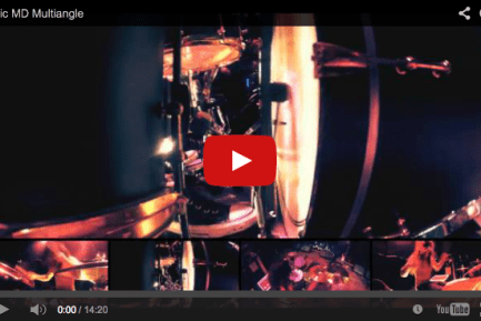 "Night Verses' Aric Improta: ""Time Erases Time"" Live Interactive Drum Cams"