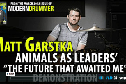 "Video: Matt Garstka Demonstrates Animals as Leaders' ""The Future That Awaited Me"""