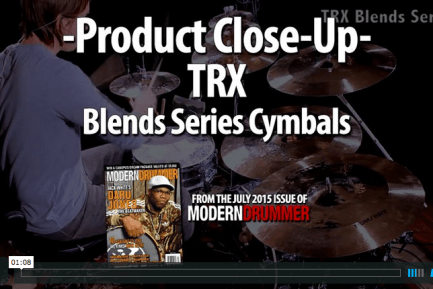VIDEO DEMO! TRX Blends Series Cymbals