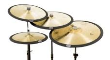 Set 4 Black Cymbomute Cymbal Mutes