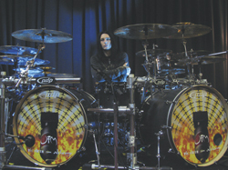 drummer Seven Antonopoulos with Opiate For The Masses