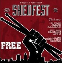 Shedfest 2012 Modern Drummer