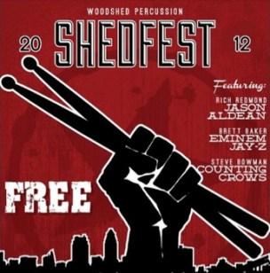 Shedfest Modern Drummer