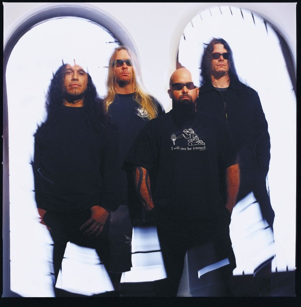 Slayer Welcomes Back Paul Bostaph