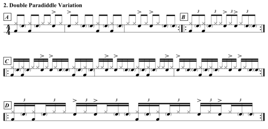 Stanoch-Double-Paradiddle-Variation