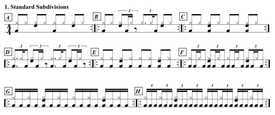 Stanoch-Standard-Subdivisions