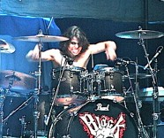 Steven Spence of Black Tide drummer blog